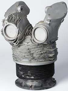 Cylinder head from Japanese Kamikaze aircraft