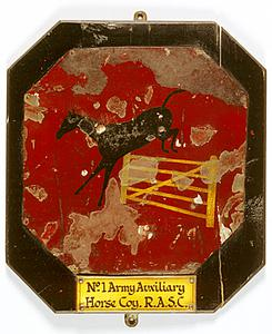 unit sign,No 1 Army Auxiliary Horse Coy RASC