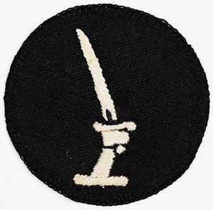 badge, formation, Indian, 20th Indian Division