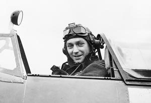 WING COMMANDER R H HARRIES