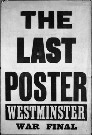 THE LAST POSTER