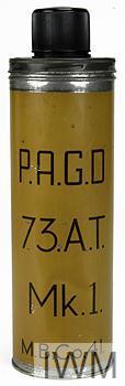 Grenade, hand, anti-tank, No 73 Mk 1 ('Thermos Flask')