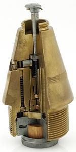 Fuze No 119B Mk IV (Sectioned)