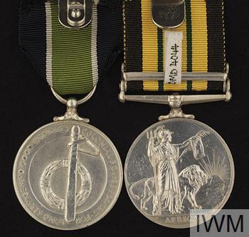 Africa General Service Medal (1902-1956)