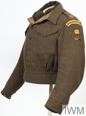 Blouse, Battledress, 1940 pattern: Major, Royal Armoured Corps
