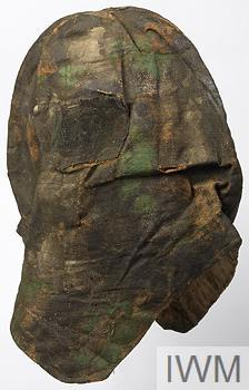 Sniper's Hood, improvised, camouflaged. 000000