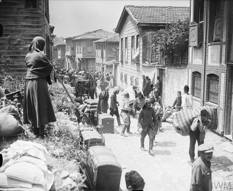 Constantinople, occupied, October 1923