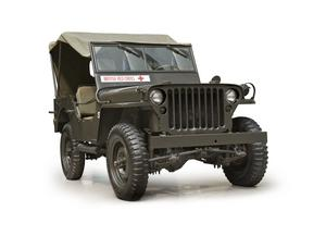 Willys MB Jeep 4x4 (Red Cross)