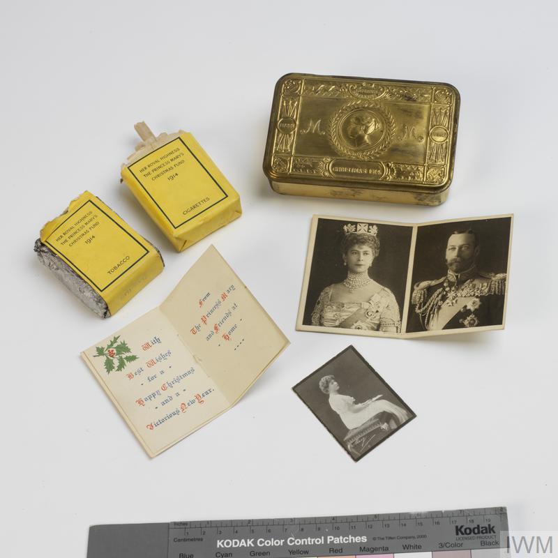 Princess Mary's Gift Fund 1914 Box, Class A smokers