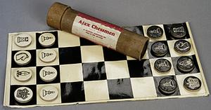 chess set, British, 'Ajax Chessmen