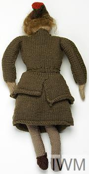 Knitted ATS Doll