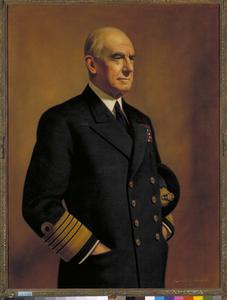 Admiral of the Fleet Sir Dudley Pound, GCB, OM, GCVO