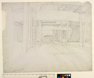 Study for 'Shipbuilding on the Clyde' - Interior View of a Ship