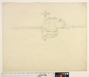 Study for 'Shipbuilding on the Clyde' - Study of an Electric Pump