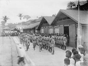 SERVICE OF LIEUTENANT POWELL WITH THE NIGERIAN BRIGADE IN EAST AFRICA, 1916-1918