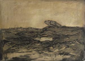 A Derelict Tank, Ypres