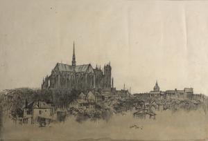 Amiens Cathedral, May 1918
