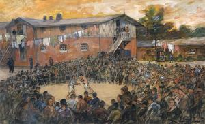 Ruhleben Prison Camp : slaves of the ring
