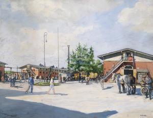Ruhleben Prison Camp : 'Trafalgar Square'