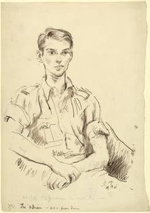 Pilot Officer 'Tex' O'Brien.