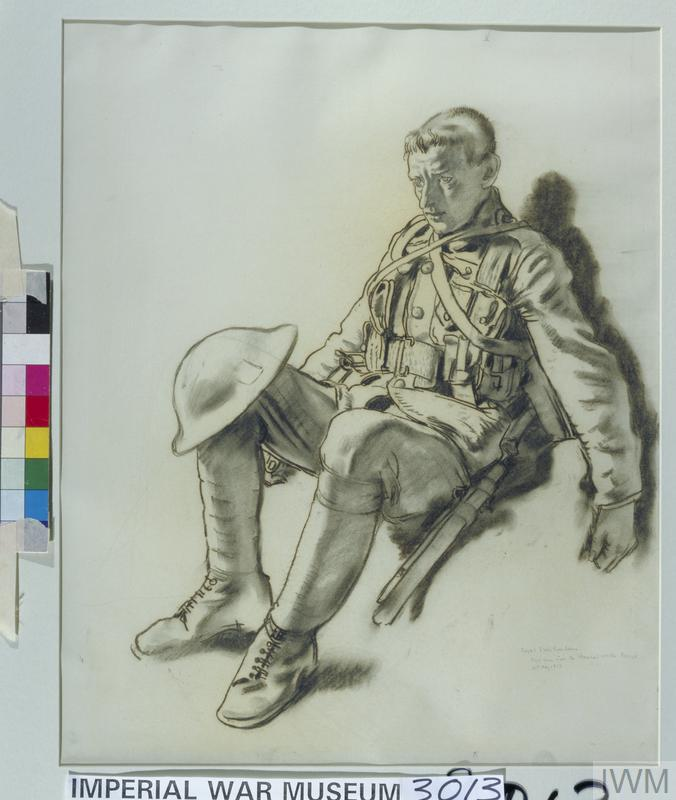 Royal Irish Fusiliers: 'Just come from the Chemical Works, Roeux: 21st May 1917'