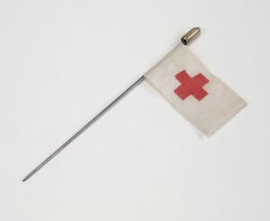 miniature flag, Red Cross
