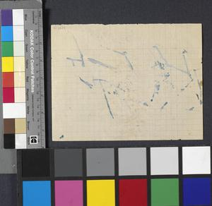 Scissus. St Aubin - Benouville Road: Series of sketches for work in IWM