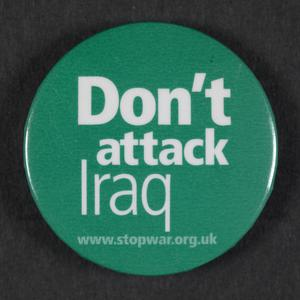 Don't Attack Iraq