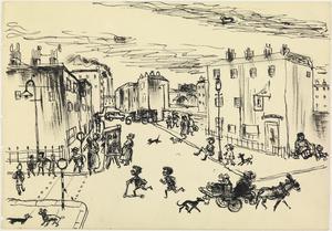 Camden Town, London, Autumn 1939