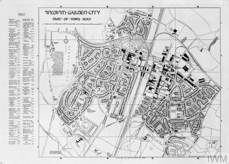 Post War Planning And Reconstruction In Britain Welwyn Garden City The Model 39 New Town 39 Mow