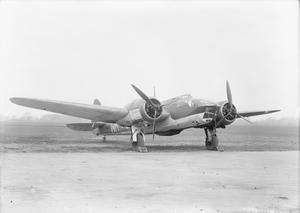AIRCRAFT OF THE ROYAL AIR FORCE 1939-1945: BRISTOL TYPE TYPE 149 BLENHEIM IV.