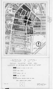 POST WAR PLANNING AND RECONSTRUCTION IN BRITAIN: LEYTON, EAST LONDON