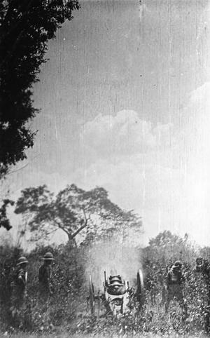 THE CAMPAIGN IN GERMAN EAST AFRICA DURING THE FIRST WORLD WAR