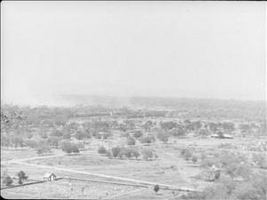 BATTLE FOR MANDALAY - BOMBING OF FORT DUFFERIN AND GENERAL REES' INSPECTION [Allocated Title]