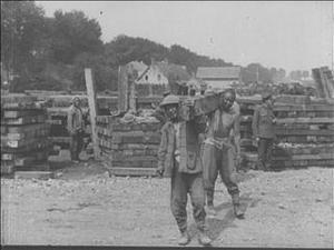 A CHINESE LABOUR CONTINGENT [Main Title]