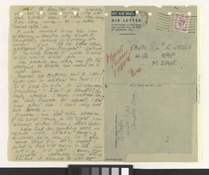 Private Papers of Miss E M Bolster