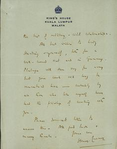 Private Papers of Field Marshal Lord Harding of Petherton GCB CBE DSO MC