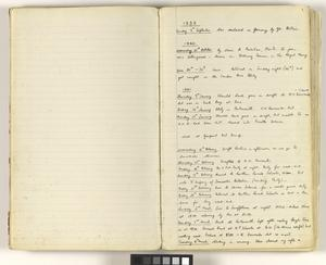 Private Papers of W Edgley