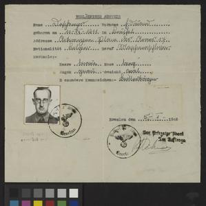 Private Papers of E G Evans