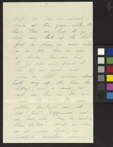 Private Papers of H Hayes