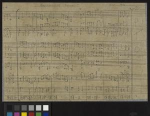 Sheet Music made by Far East Prisoners of War, Second World War