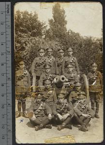 Soldier's autograph album, 1916 - 1919