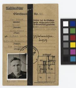 Forged Passes from Colditz, Second World War