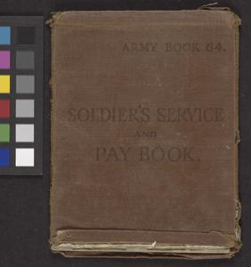 National Service Soldier's Release Book, 1949