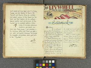 `Flywheel' Motoring Journal of Stalag IVB, 1944 - 1945