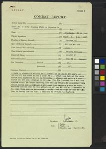 No 310 Squadron RAF Combat Report, 15 September 1940
