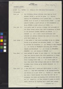 Special Order of the Day issued by General the Earl of Cavan, January 1919