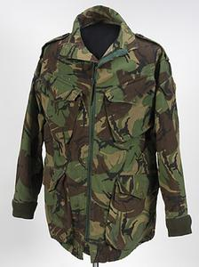 Smock, Camouflage DPM, Parachutist's, 1978 pattern: Colour Sergeant, 2 Para