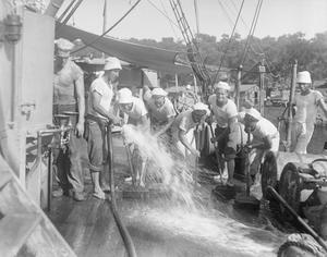 THE US NAVY IN THE MEDITERRANEAN, 1917-1918