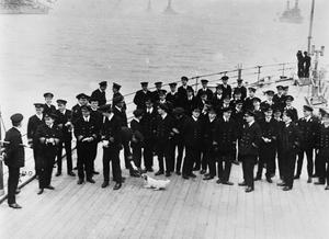 THE SURRENDER OF THE GERMAN HIGH SEAS FLEET, NOVEMBER 1918